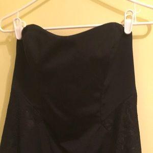 Nicole Miller black strapless dress size 10